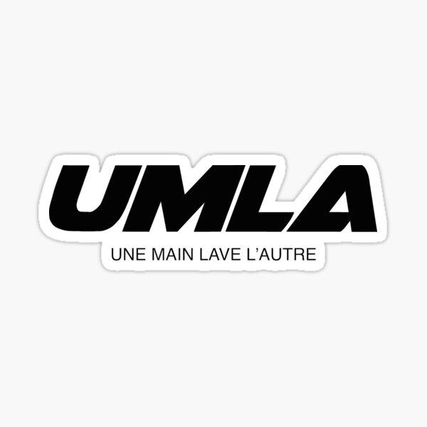 Wann - UMLA logo (noir) Sticker
