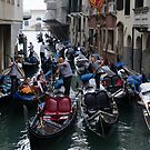 Venice Canal -3 by David Galson