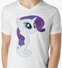 Rarity Sea Pony Men's V-Neck T-Shirt