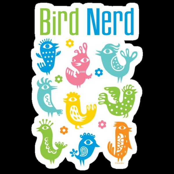Bird Nerd - dark by Andi Bird