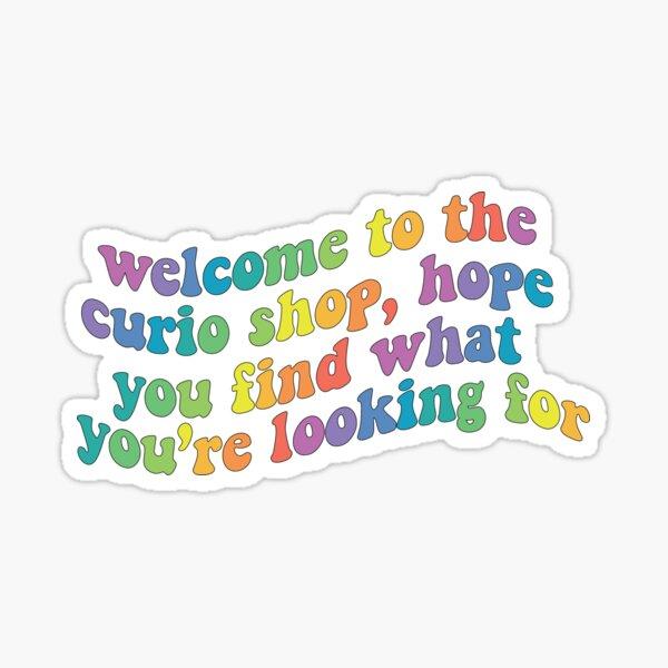 Webkinz Curio Shop Rainbow Warp Sticker