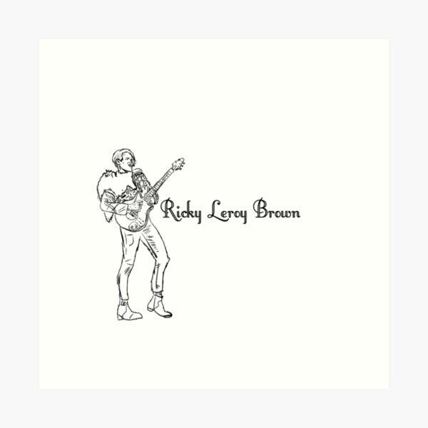 Ricky Leroy Brown Kunstdruck