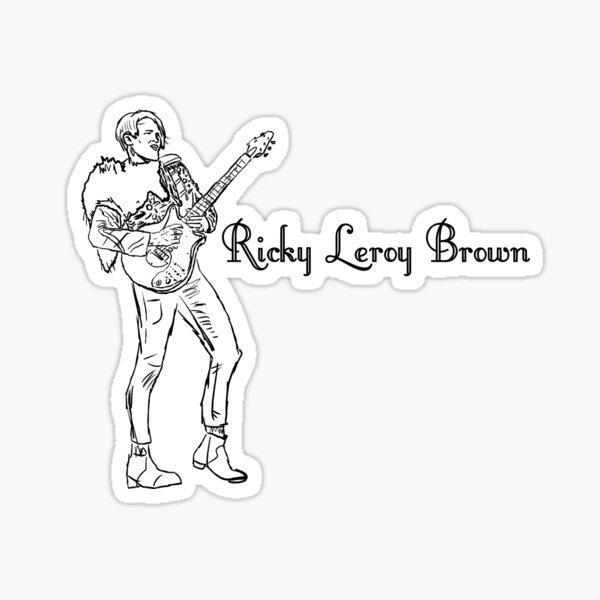 Ricky Leroy Brown Sticker