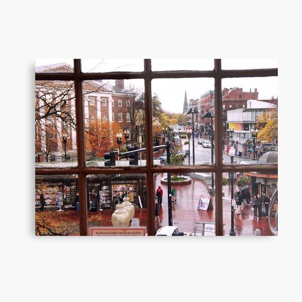 Harvard Square  Metal Print