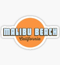 Malibu - Kalifornien. Sticker