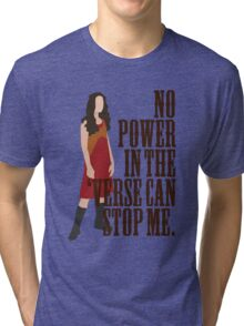 River Tam - No Power In The 'Verse Can Stop Me Tri-blend T-Shirt