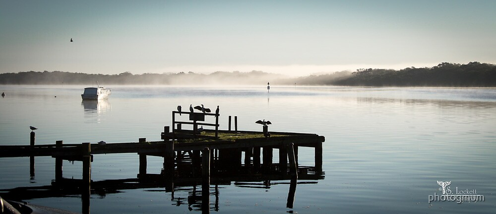 Misty moning by photogmum