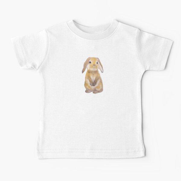 Bunny Painting Tatra Cottage Baby T-Shirt