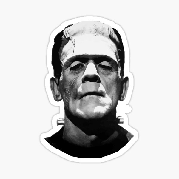 Frankenstein clipart black and white, Frankenstein black and white  Transparent FREE for download on WebStockReview 2020