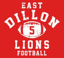 East Dillon Lions Football - 5 Red | Unisex T-Shirt