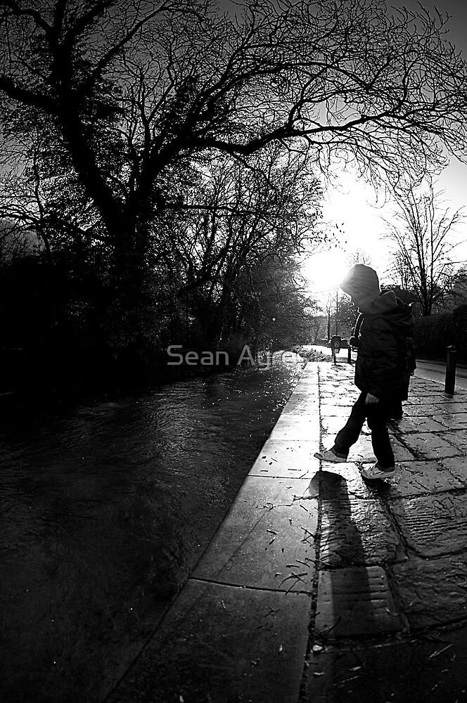 Black and white by Sean Ayres