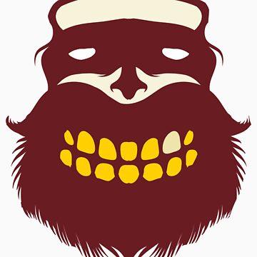 Beard Logo Special Movember Edition by quakerninja