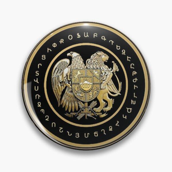 Armenian Coat of Arms & Alphabet Pin