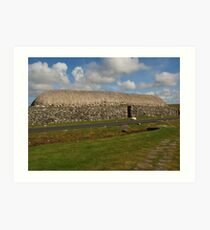 Blackhouse Museum Art Print