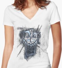 Ed's in my head Women's Fitted V-Neck T-Shirt
