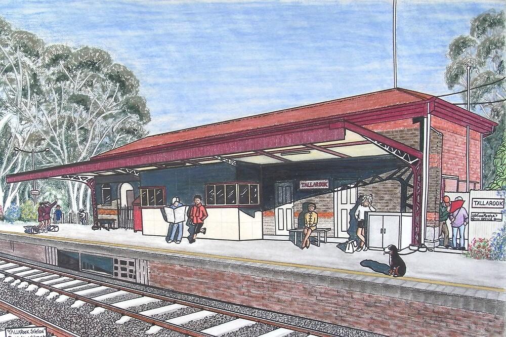 The Tallarook Railway Station by widdy