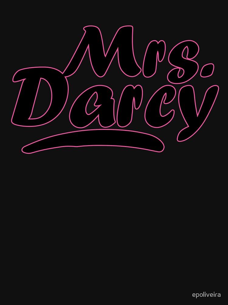 Mrs Darcy Pride and Prejudice  by epoliveira