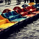 Paddle Boats by Briana McNair