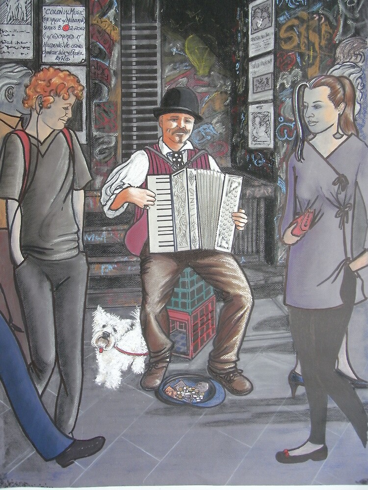 Colonial music in modern Melbourne by widdy