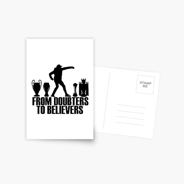 From Doubters To Believers Postcard