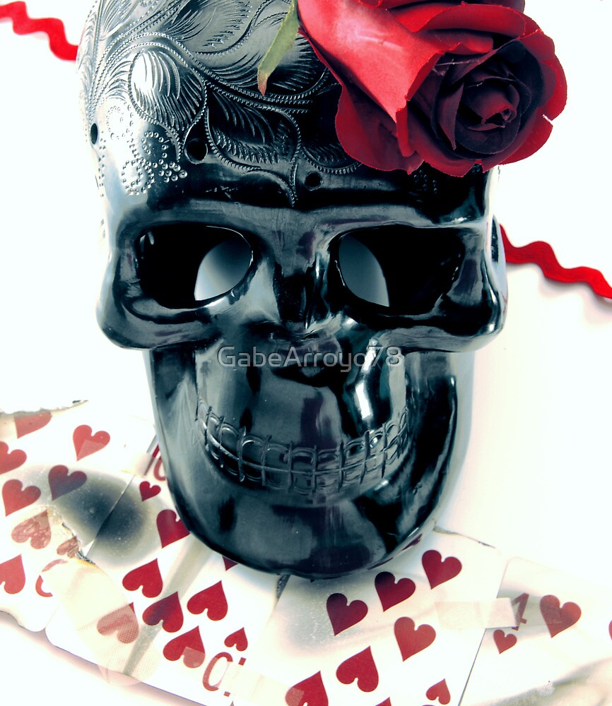 skull n rose by GabeArroyo78