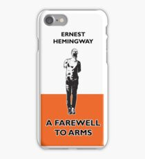 A farewell to arms Zombie Hemingway iPhone Case/Skin