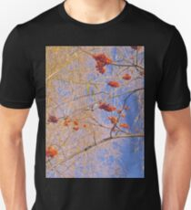 Red Berries and Willows T-Shirt