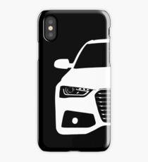 Simple German Sedan front end design iPhone Case/Skin
