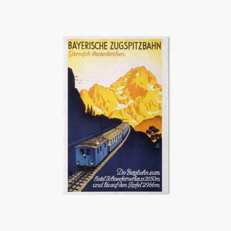 Garmisch Partenkirchen...Bayerische Zugspitzbahn Art Board Print