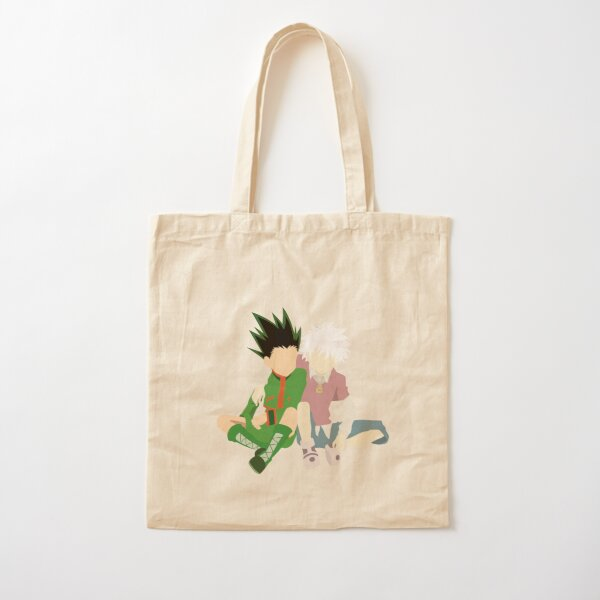 Gon and Kirua !! Cotton Tote Bag