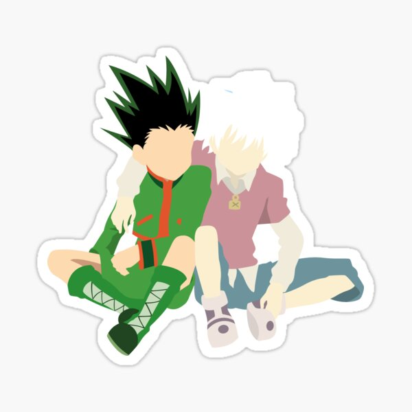 Gon and Kirua !! Sticker