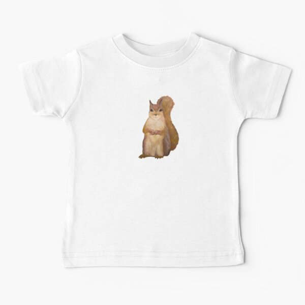 Squirrel Painting Tatra Cottage Baby T-Shirt