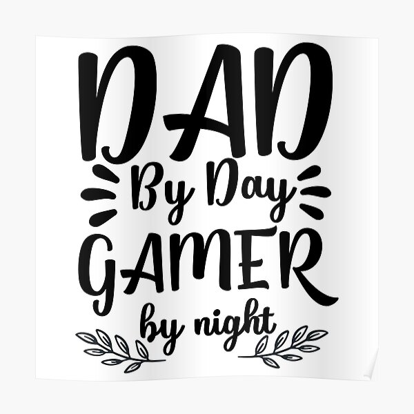 Free Love the father's day design. Fathers Day Svg Posters Redbubble SVG, PNG, EPS, DXF File