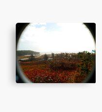 Osprey's eye view of Chappaquidick Canvas Print