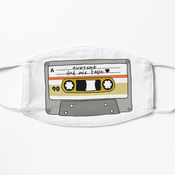 awesome dad mix tape Mask