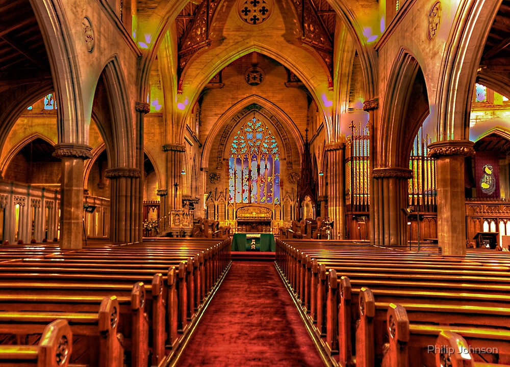 St Saviours Cathedral - Goulburn , NSW Australia C1874 - The HDR Experience by Philip Johnson