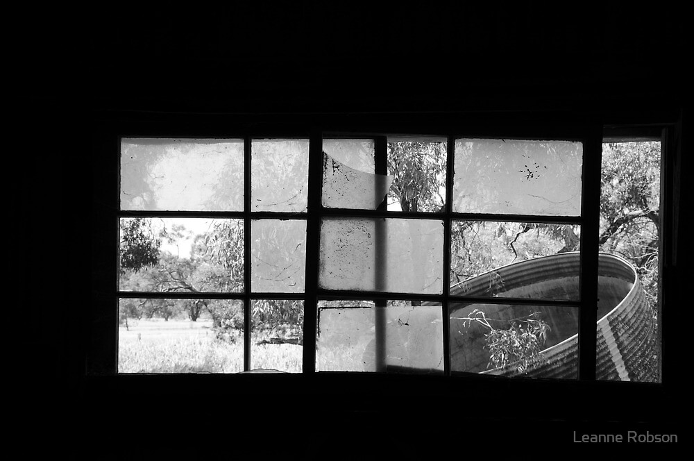 Looking Through Yesterdays Window by Leanne Robson