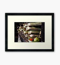 Canang Sari Framed Print
