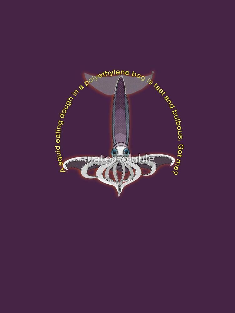 flying squid - dead beat poets  by watersoluble