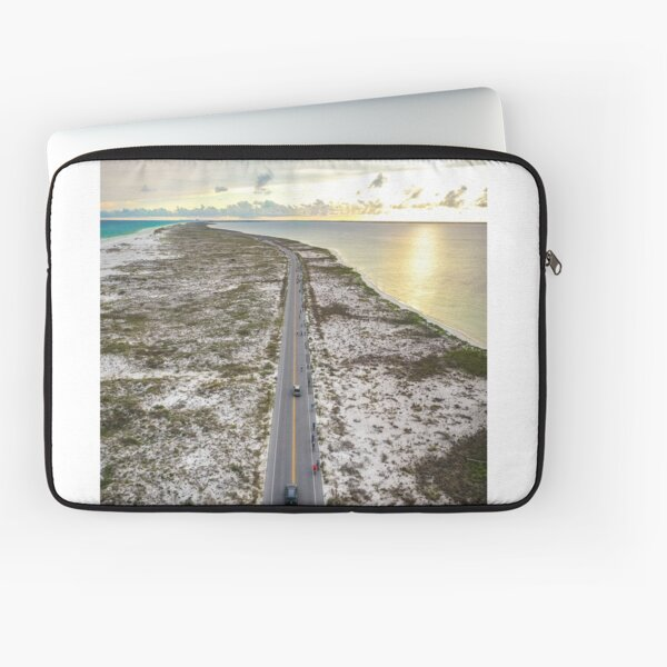 Fort Pickens Cycling Entrance Laptop Sleeve