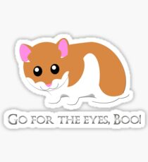 Go For The Eyes Sticker