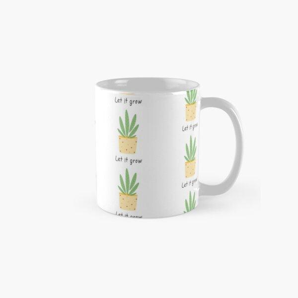 Let it grow, botanical illustration Classic Mug