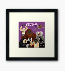 I Am Thankful For Primates Framed Print