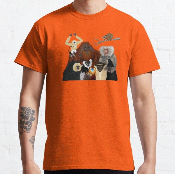 Ich bin dankbar für Primaten Classic T-Shirt