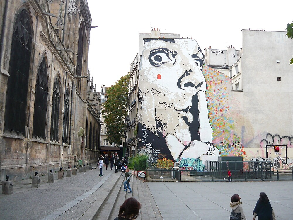 Street Art, Paris by ChristineBetts