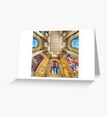 Birmingham Cathedral 4.0 Greeting Card