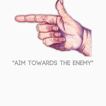 Aim Towards The Enemy by xsunshinne