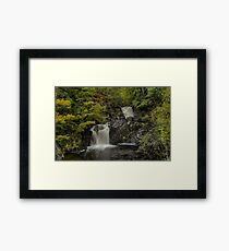 A deafening roar fills the silence Framed Print