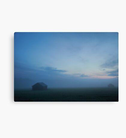 Misty Summer Night Canvas Print