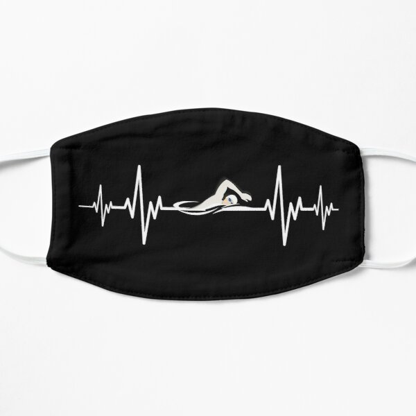 Heartbeat Swimming - Swimming lover Mask